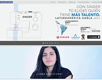 Concurso Latinoamérica Habla - Inexmoda 2015