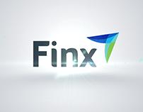 Animación de logotipo para Finx