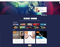 Old Theme Radio Place Hits - WP Theme