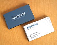 Cartão de Visitas - Alvaro Govone