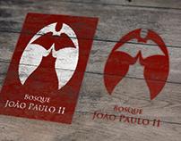 Identidade visual do Bosque João Paulo II