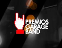 PREMIOS GARAGE BAND 4ta EDICIÓN