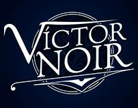 Victor Noir Logo & Animated logo
