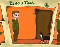 Ilustración / Pino y Tina / historieta