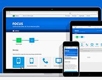 Website - Focus ANATEL