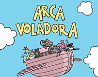 ARCA VOLADORA comic strip 2015