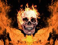 Burn Skull