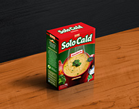 """Diseño de packaging """"SoloCald"""""""
