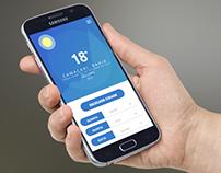 DailyUI #003 - Weather App / Previsão do tempo
