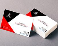 logo personal, tarjeta de presentación
