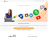 Site institucional da Interativa.Info Provedores