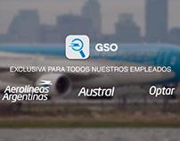 AEROLINEAS ARGENTINAS: Institucional para APP