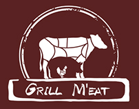 GrillM'eat Business Card