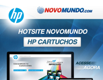 Hot Site Cartuchos HP - Novo Mundo