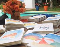 Job Ilustrações em Aquarela - Neutrogena / La Roc Posay