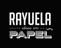 Logo Rayuela Ideas en Papel