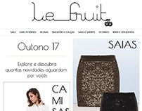 E-mail Marketing - Le Fruit - E-commerce