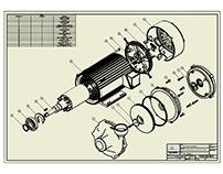 Planos de una bomba centrifuga