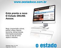 Anúncio para jornal, Site O estado.