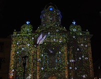 Christmas Projection Mapping 2017 - Cali - Colombia