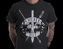 Create Til I Die T - Camisa Design