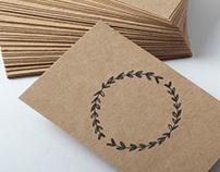 Kraft Paper Bussines Cards