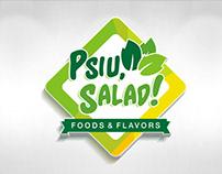 Logomarca Psiu, Salad!