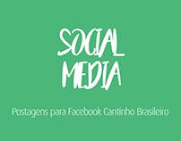 Postagens para Facebook Cantinho Brasileiro