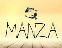 MANZA - Beer Label