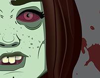I'm zombie | Ilustración