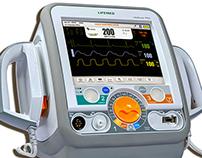 Desfibrilador cardíaco LifeShock PRO