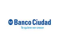 BANCO CIUDAD- Diseño de Newsletters y Campañas vía mail