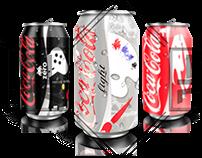 Diseños para presentaciones para latas (Coca Cola)