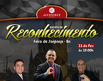 Evento de reconhecimento - Accontece