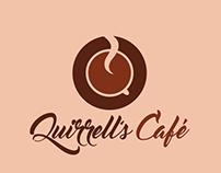 Cliente Fictício | Branding Quirrell's Café