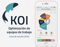 KOI - Caso de estudio UX/UI