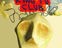 Cartel para Cuásar y Kung Fu Club