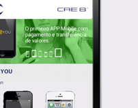 App CRE8™ Brasil.