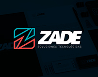 Zade - Branding and Corporate Identity + Web App