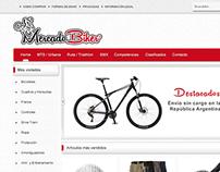 Sitio web Mercado Biker