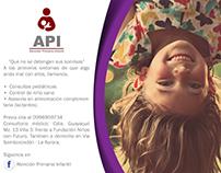 Logo y portada de API en Facebook