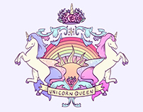 Pattern / Unicorn Queen