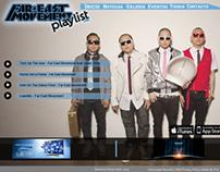 Playlist / Diseño de pagina web.