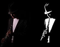 Jazz | Fotografia + Stêncil