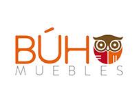 Logo para Búho Muebles