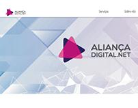 Site Layout para Aliançadigital.net