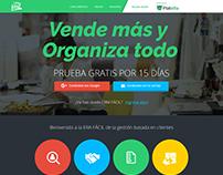 CRM-FÁCIL: Homepage