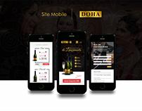 DOHA - Site (Versão Desktop e Mobile)