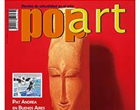 Portada de Revista PopArt