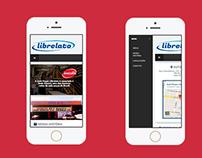 Projeto mobile Librelato